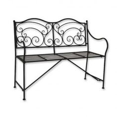 Poze BAN201 - Banca gradina Fier Forjat Outdoor Furniture, Outdoor Decor, Istanbul, Pergola, Bench, Exterior, Metal, Home Decor, Gardening