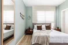 Modern Master bedroom green walls Modern Master Bedroom, Modern Masters, Bedroom Green, Green Walls, Bedrooms, Furniture, Home Decor, Decoration Home, Room Decor
