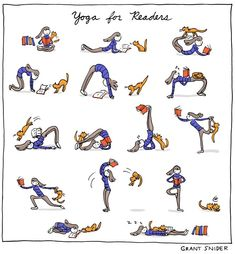 Yoga for Readers... #Yoga #readers #readerscommunity #amreading #booklovers #bookworms #writingcommmunity July 6th, The 5th Of November, Ny Times, Yoga, Comics, Concept Art, Literature, Snoopy, Thoughts