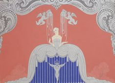 The Iconic Art Deco Drawings of Erté – Fubiz Media