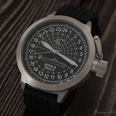 Russian 24 hour watch, Shchuka-B Submarine 51 mm (leather) Navy Emblem, Russian Submarine, Soviet Navy, Field Watches, Ruby Jewel, Amazing Watches, Nato Strap, All Stainless Steel, Watch Sale