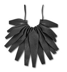 black lily - neck lace by Anastasia-Jean Parker