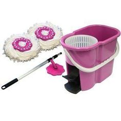 360 DEGREE SPIN MOP...saw this last night at a friends house and I have to get it.