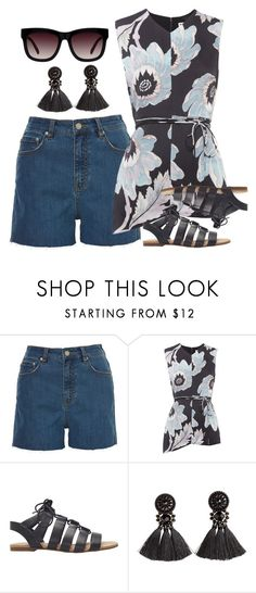 """""""Untitled #2016"""" by erinforde ❤ liked on Polyvore featuring Whistles, Sandler and H&M"""