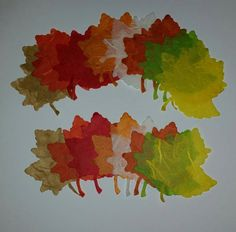 Mulberry Paper Leaves,24 Large Fall Leaf Die Cuts , Fall Color Leaves, Autumn Leaf Die cut, fall placecards,  Scrapbook ,Cards, Fall Wedding