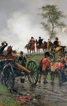 La Pintura y la Guerra. Sursumkorda in memoriam Military Art, Military History, Empire, British Army, British Soldier, Battle Of Waterloo, Waterloo 1815, Bataille De Waterloo, Crimean War