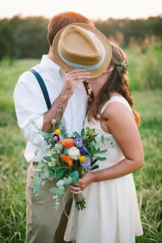 Picnic Wedding Inspiration from Blissful Whimsy Events and Mark Potter Photography