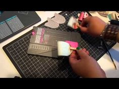 ▶ Create a Large Bow with WRMK Flower and Envelope Punch Board - YouTube