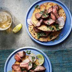 Tasty Taco Night Recipes | Grilled Flank Steak with Chipotle-Orange Mojo  | MyRecipes.com