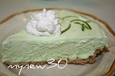 A super tangy icebox pie made with lime juice, lime zest and a packet of lime Kool-Aid. This one is made in a pretzel crust, but a homemade or commercial graham cracker crust works great too! Substitute lemon for lemon icebox. Frozen Desserts, Just Desserts, Delicious Desserts, Awesome Desserts, Frozen Treats, Koolaid Pie, Lime Kool Aid, Pie Recipes, Dessert Recipes