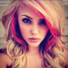 I want my color to come out like this but with dark brown and red