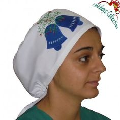 Surgical cap for all medical or other uses.Lovely and wonderful design!  This scrub