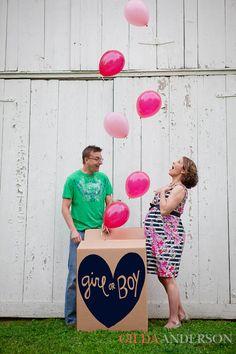 Gender reveal - Gilda Anderson Photography