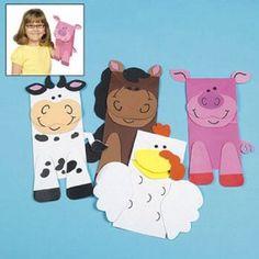 farm puppet craft