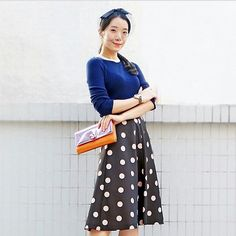 Beautiful @vnikali in #REDValentino #springSummer15 precollection #RedValentino #red #valentino #SS15 #vnikali #pois #contreboutiques #photography #beauty shop at contre.it
