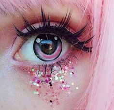 Image about love in Beautiful dressed,girl pic, make up,nails by KHUSHI Fairy Makeup, Makeup Art, Beauty Makeup, Makeup Ideas, Anime Eye Makeup, Aesthetic Eyes, Aesthetic Makeup, Lolita Make-up, Gothic Lolita