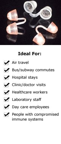 travel nose filter