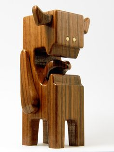 "WALNUTI -4"" Wood Toy by pepe"