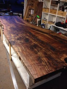Per Will Simpson: Here is the top side of the slab that won the hearts of many...