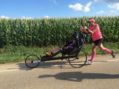 Father, son running across country to help children with disabilities