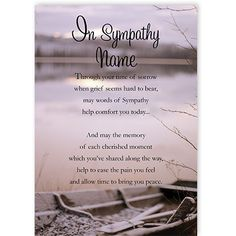 Sympathy - QuickClickCards - Your design, your message Sympathy Greetings, Sympathy Cards, Words Of Sympathy, Personalized Greeting Cards, Along The Way, Grief, Special Occasion, How Are You Feeling, Messages