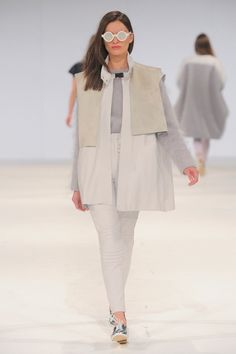 Kingston University fashion student Lauren Golding's work on the catwalk at Graduate Fashion Week 2013.  Find out more about studying Fashion (BA Hons) at Kingston Uni:  http://www.kingston.ac.uk/undergraduate-course/fashion-2014/?utm_source=Pinterest_medium=Social_campaign=KUPinterest_content=GradfashionweekJune2013