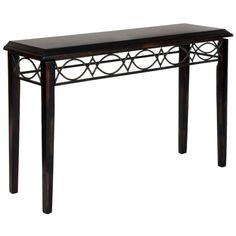 Safavieh Jacquelyn Dark Brown Console Table