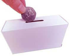 Collection Boxes in cost-effective cardboard