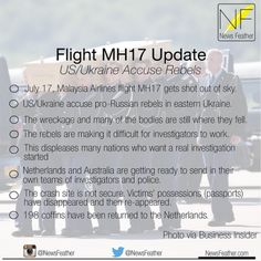Flight MH17 Update