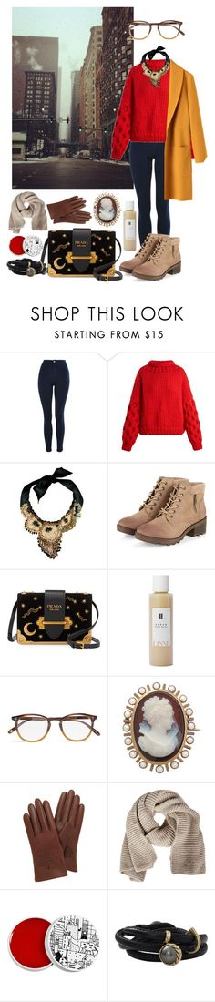 A fashion look from December 2017 featuring red shirt, yellow coat and blue jeans. Browse and shop related looks. Yellow Coat, Too Cool For School, Red Shirt, Mittens, Blue Jeans, Topshop, Fashion Looks, Prada, Polyvore