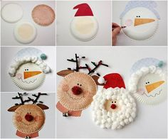DIY Paper Plate Christmas Characters diy crafts christmas easy crafts diy ideas kids crafts christmas crafts christmas decor christmas diy christmas crafts for kids Kids Crafts, Diy And Crafts Sewing, Crafts For Teens, Easy Crafts, Preschool Christmas, Christmas Activities, Kids Christmas, Christmas Things, Christmas Paper