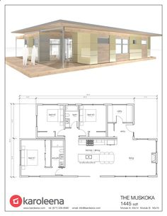 Container House - Signature Series - Karoleena - Who Else Wants Simple Step-By-Step Plans To Design And Build A Container Home From Scratch?
