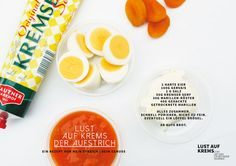 Rezept Lust auf Krems Aufstrich Cantaloupe, Lust, Eggs, Breakfast, Food, Pranks, Mustard, Spreads, Food Recipes