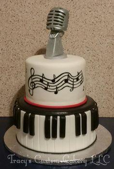 Jazz Singer Cake