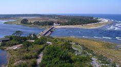 Utsikt från fyren Erik på Norra Öland