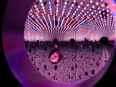 The Broad- has Infinity Mirrors!