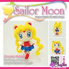[New]Sailor Moon by Rabbiz design-Free Craft Patterns