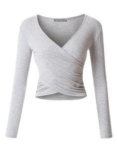 This lightweight long sleeve crop top is perfect for any occasion. You can wear it casually with hig Outfits For Teens, Casual Outfits, Cute Outfits, Fashion Outfits, Long Sleeve Crop Top, Long Sleeve Shirts, Oversized Cardigan, Crop Top Outfits, Clothes Crafts