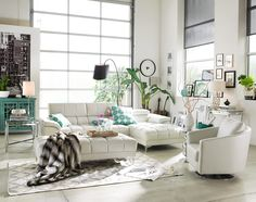 Staycation goals! The Sabrina Collection | American Signature Furniture