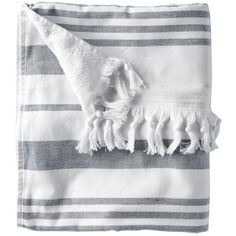 Serena & Lily Fouta Beach Towel ($24) ❤ liked on Polyvore