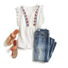 Spring Style Outfit Ideas: Boho casual style