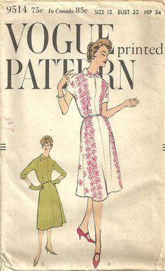 Vogue Sewing Pattern 9514