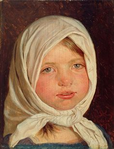 Little Girl From hornbaek by Peder Severin Krøyer | Art Posters