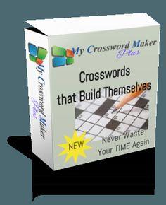 My Free Crossword Maker
