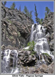 Silver Falls Colorado near Pagosa Springs