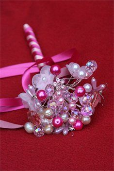 Flower girl wand from Love Bouquets