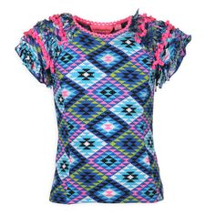 love this tshirt and the ruffle sleeves. www.kienk.nl #kidsfashion #mimpi #meisjeskleding