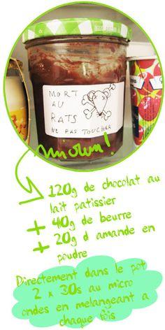 Tambouille» pâte choco amandes
