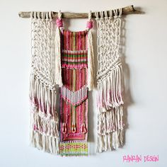 Hey, I found this really awesome Etsy listing at https://www.etsy.com/listing/492324081/tribal-macrame-wall-art-ranran-design