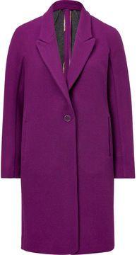 Etro Wool Peaked Lapel Coat on shopstyle.com
